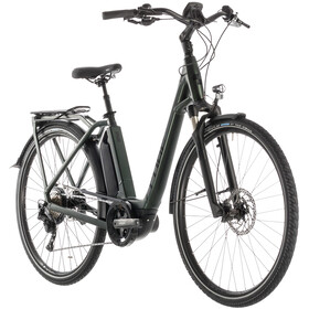Cube Town Sport Hybrid EXC 500 E-City Bike Easy Entry green